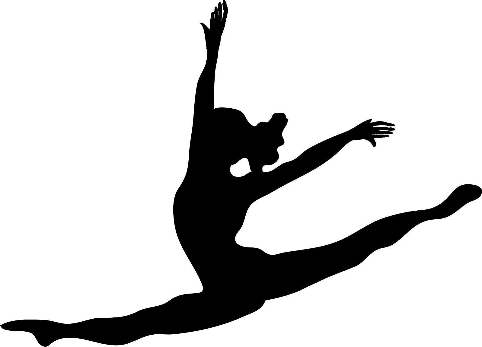 Dance Leap Clipart #1