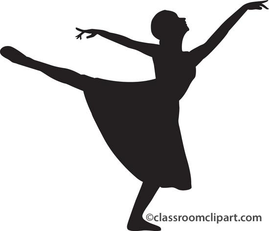 Dance Leap Silhouette Clipart Cliparthut Free Clipart