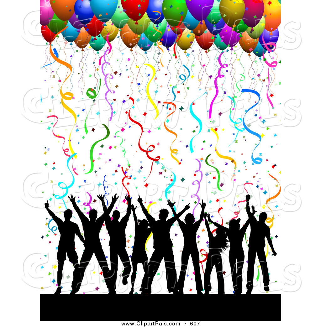 Dance Party Clip Art Black And White Clipart Panda Free Clipart