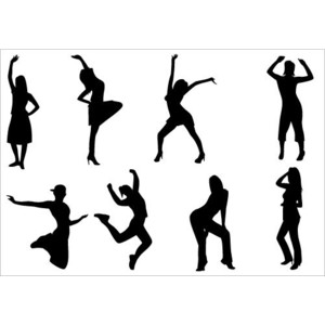 Dance Party Clip Art pack - .