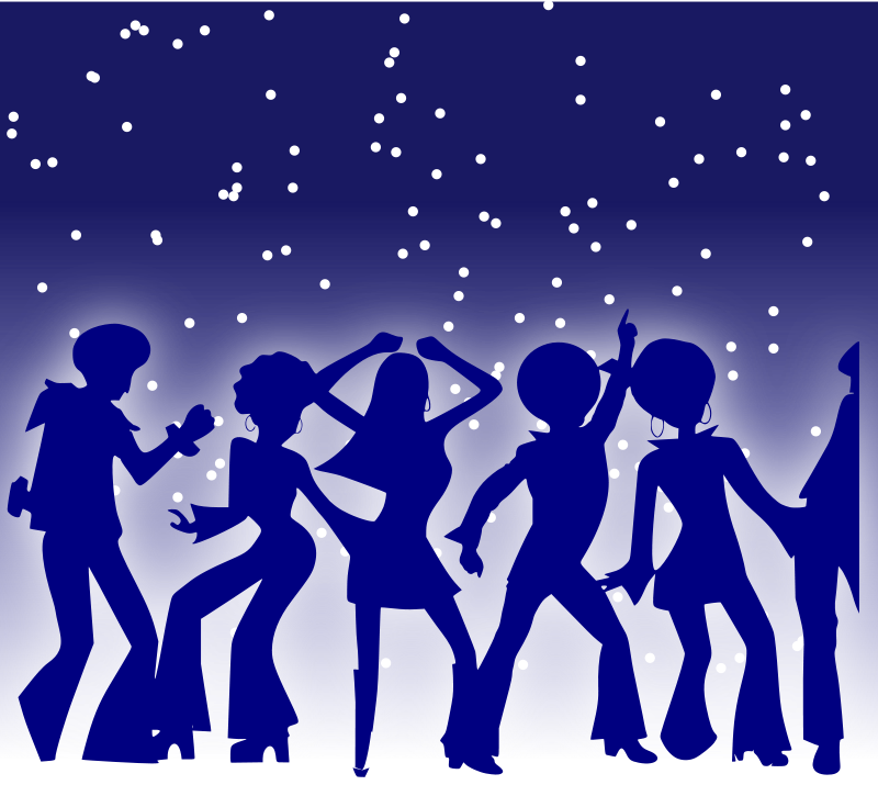 Dance Party Free Clipart #1