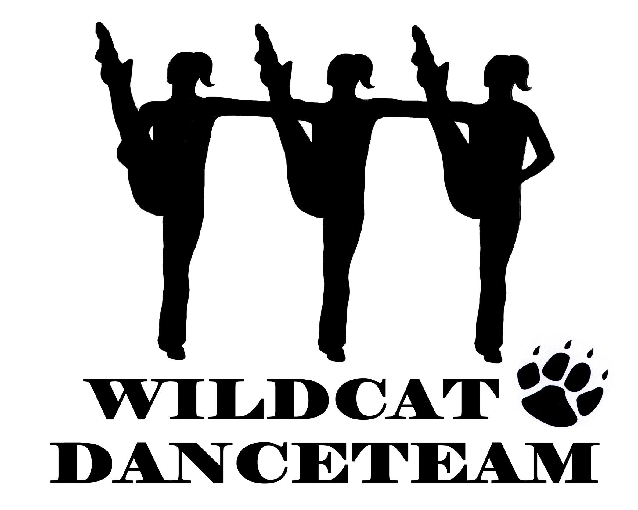 Dance Team Clipart Kick Dance High Kick Silhouette