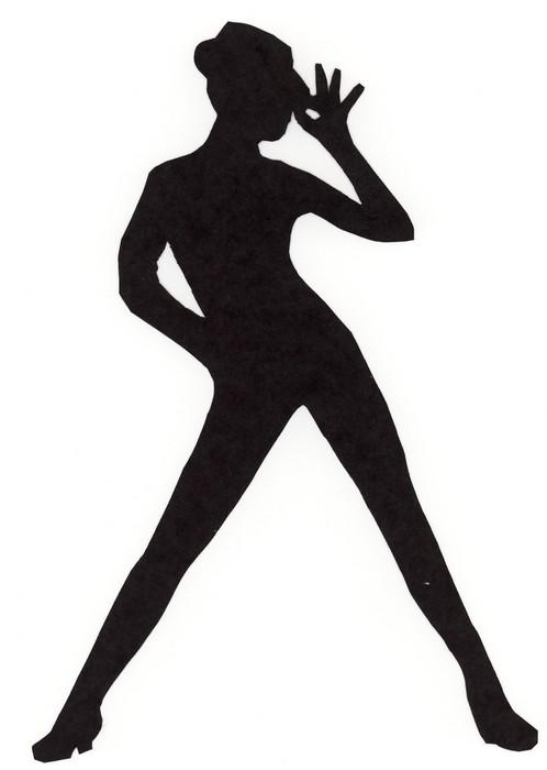Dancer clipart silhouette free ... jazz dancer clipart% .