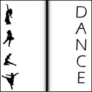Dancing Clipart Image - Clip Art Illustration Of A Background With .