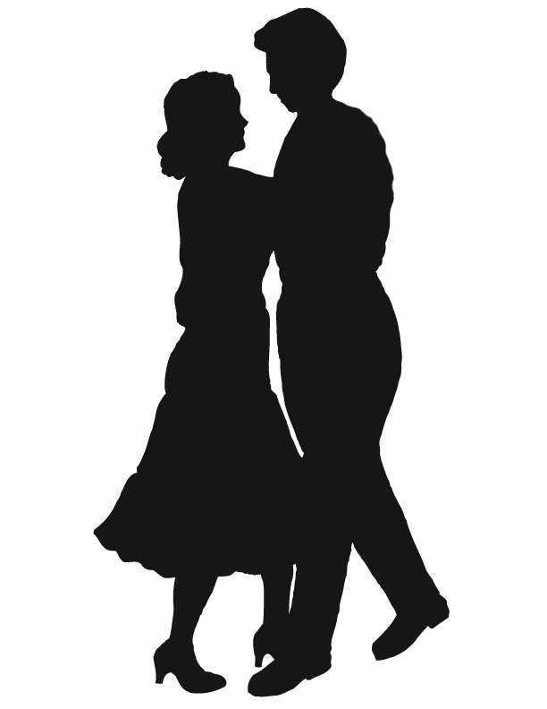 Dancing Couple Silhouette Clipart Best-Dancing Couple Silhouette Clipart Best-10