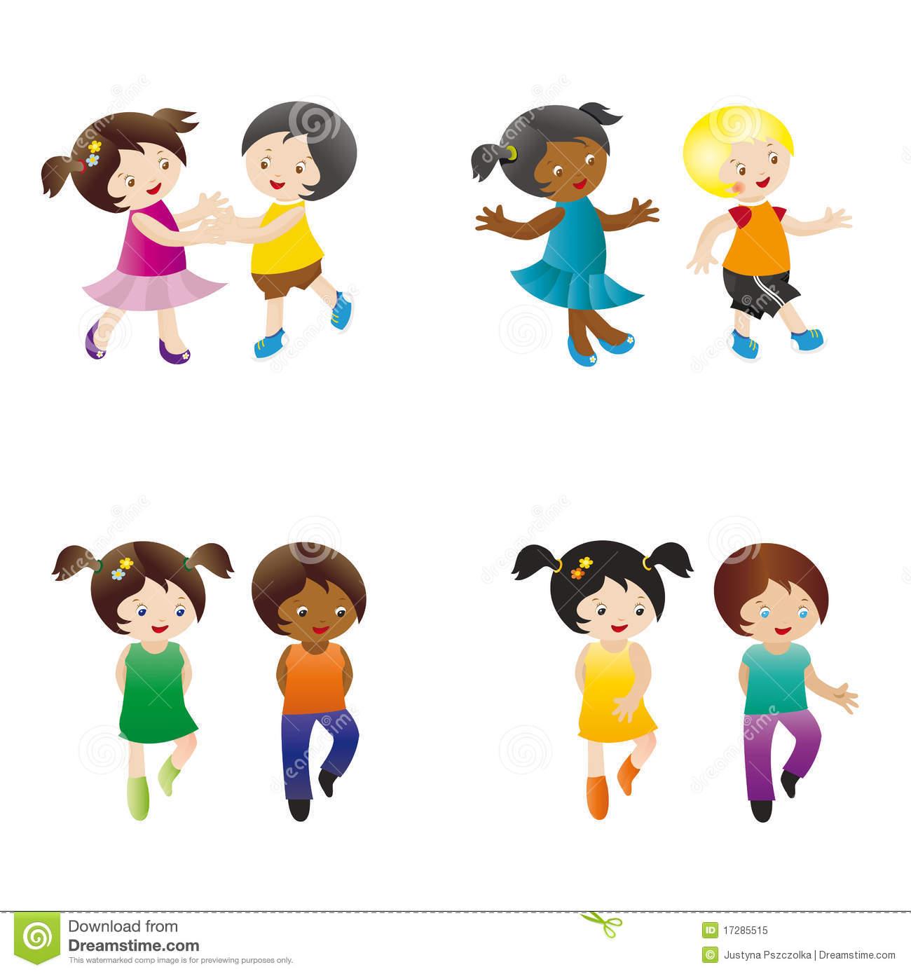Dancing kids - Kids Dancing Clipart