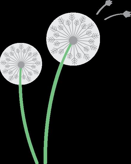 Dandelion Flower Clipart #1 .-Dandelion Flower Clipart #1 .-4