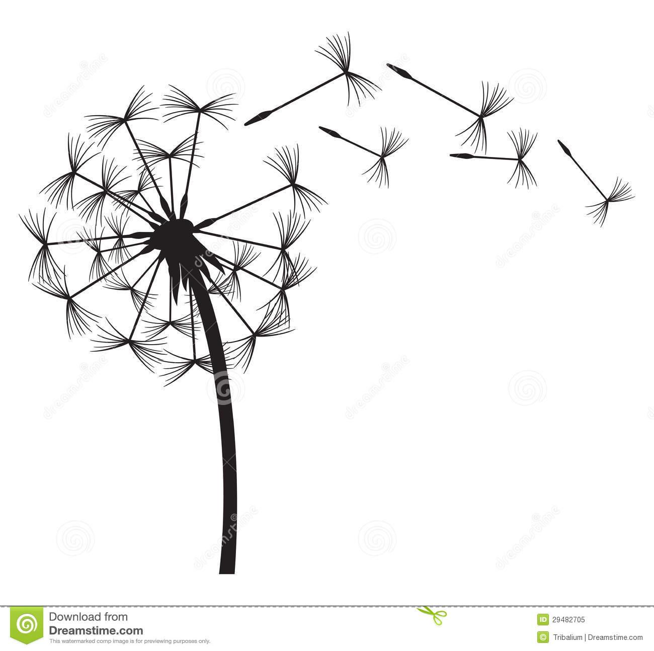 Dandelion In The Wind Vector Dandelion-Dandelion In The Wind Vector Dandelion-14