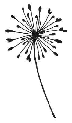 Dandelion Silhouette Clip Art - Google S-dandelion silhouette clip art - Google Search-13