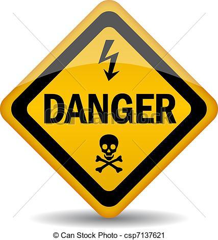 ... Danger warning sign - Vector danger warning sign Danger warning sign Clipartby ...