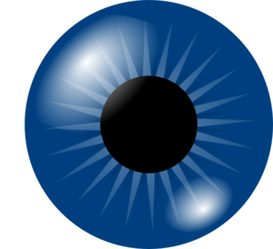 Dark Blue Eye Clip art