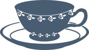 dark blue teacup clip art-dark blue teacup clip art-15