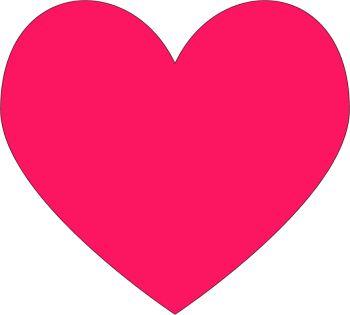 Dark Pink heart