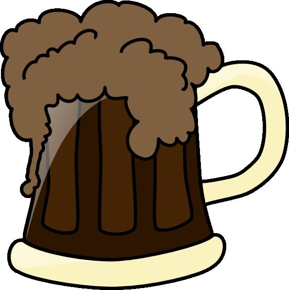 Dark Root Beer Clipart