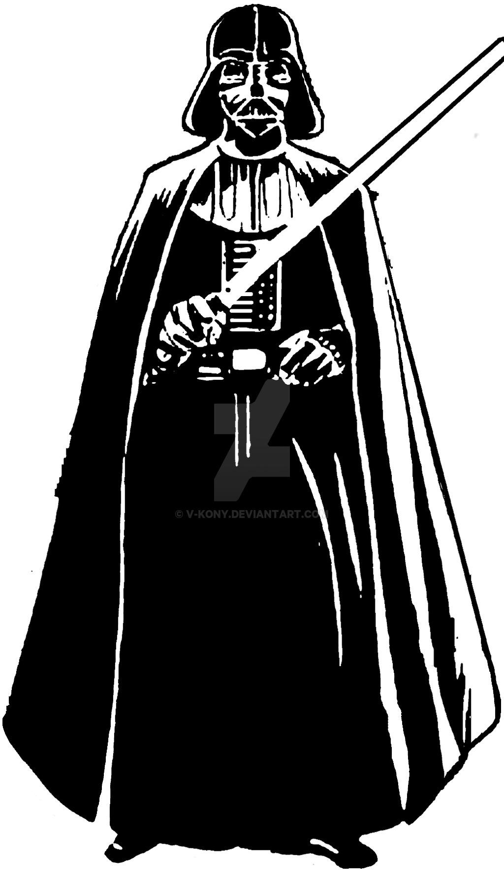 Darth Vader Clip Art - .-Darth Vader Clip Art - .-3