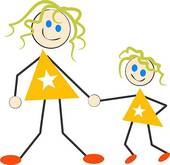 Daughter Vector Clipart And Illustration-Daughter Vector Clipart And Illustrations Images Frompo-5