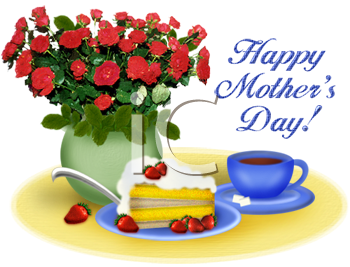 Day Clip Art. Happy Mother .