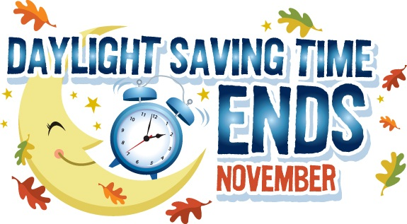 Daylight Savings Ends Clipart .