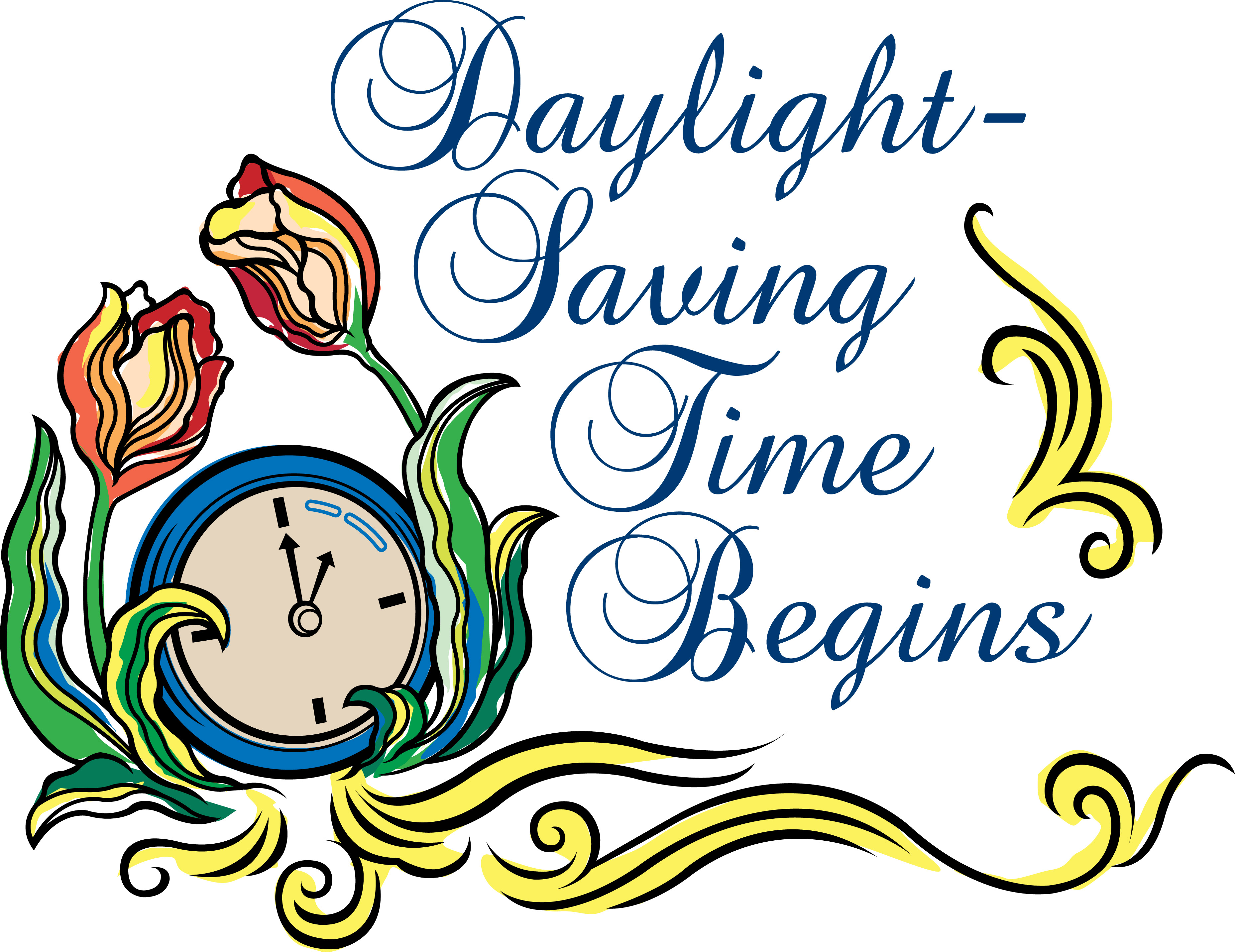 Daylight Savings Time Clip Art Cliparts -Daylight Savings Time Clip Art Cliparts Co-4