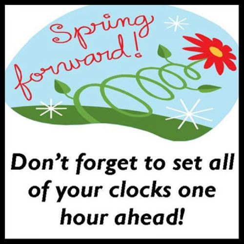 Daylight Savings Time Clip Art Spring Forward 1 Antioch Fellowship