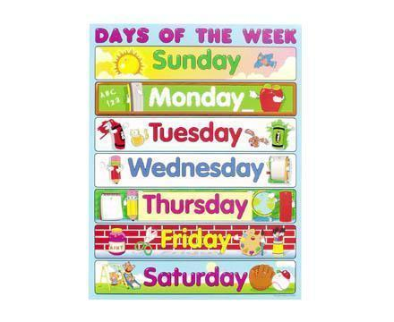 Days Of The Week-Days Of The Week-0