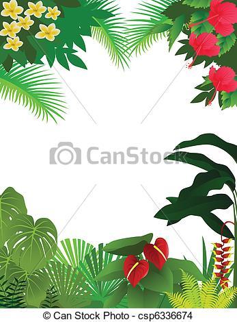 De Tropical Rainforest Plano De Fondo Csp6336674 Buscar Clipart
