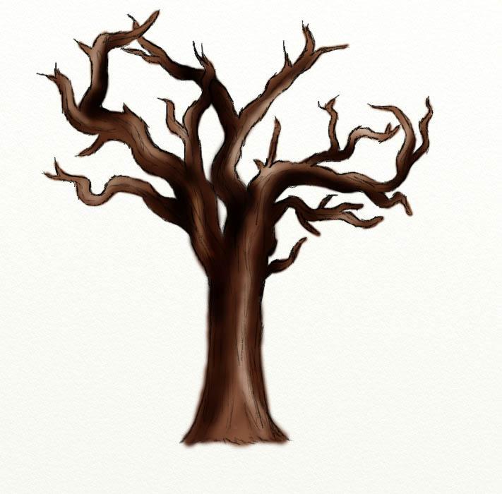 Dead Tree Clip Art