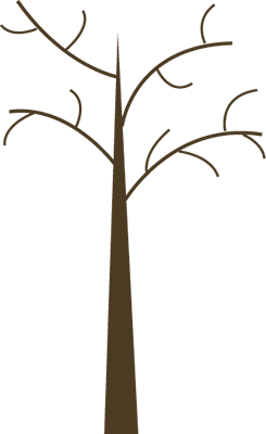 Dead Tree Clip Art Image - dead tree without leaves.