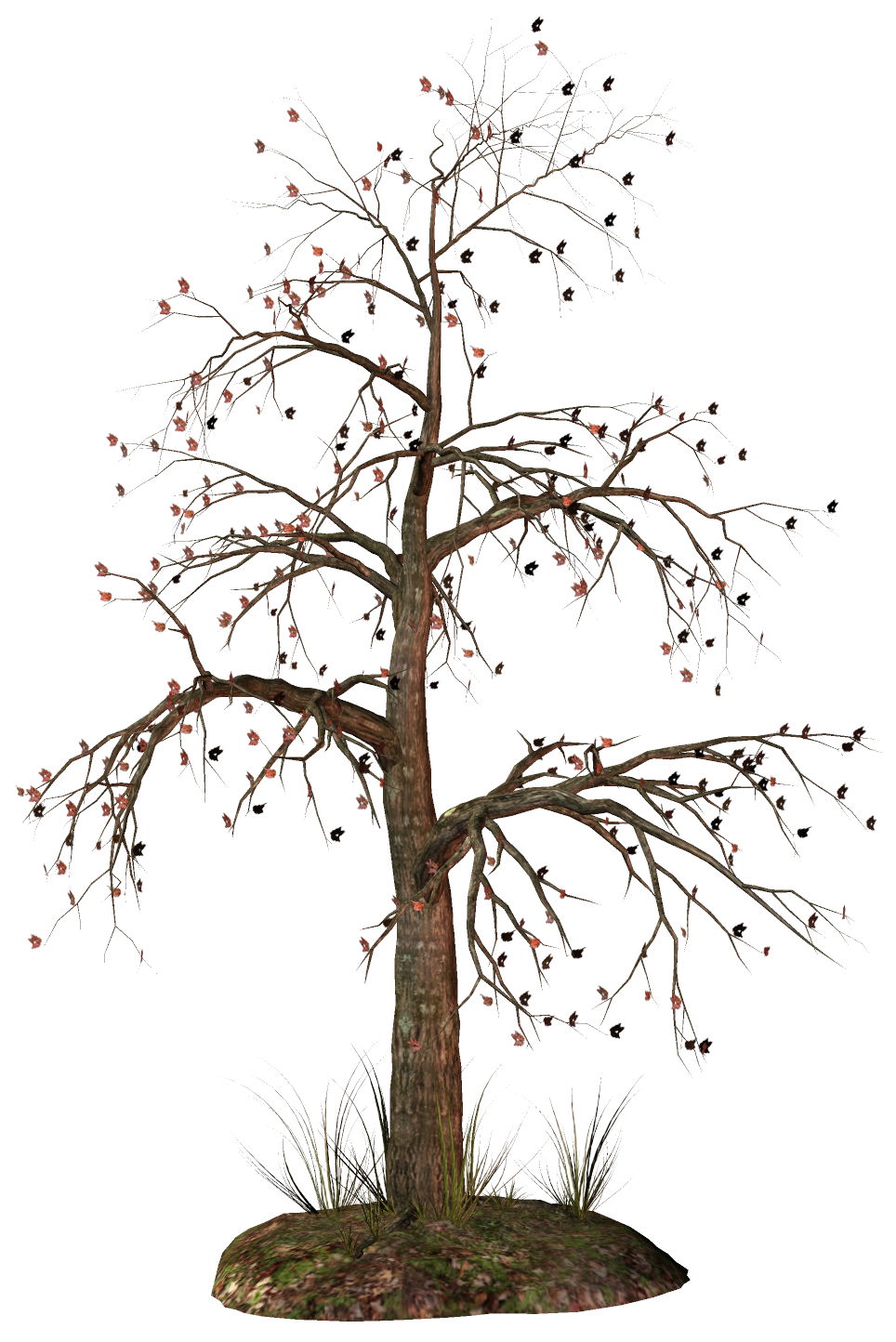 Dead tree clipart 2