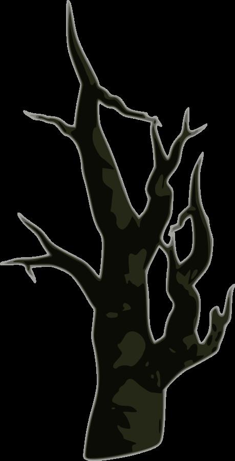 Dead Tree SVG Vector file, vector clip art svg file - ClipartsFree