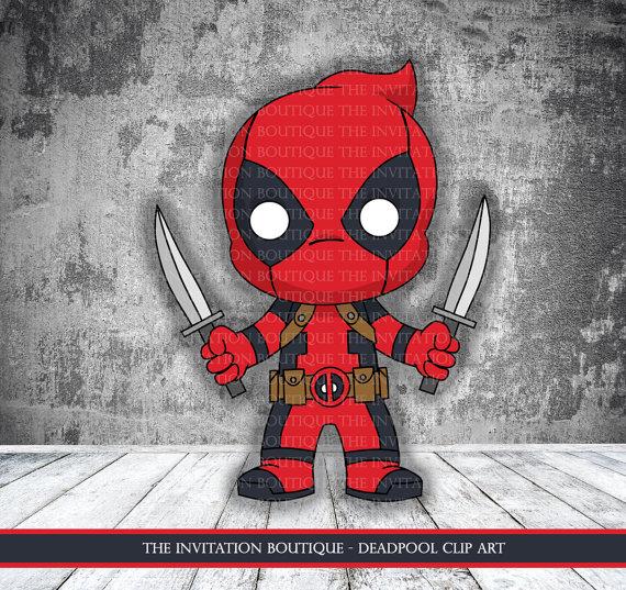 Deadpool Clipart