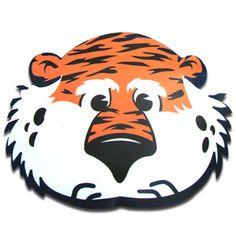 Decal, Aubie Head 6u0026quot; | Auburn .