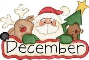 December,Santa and reindeer