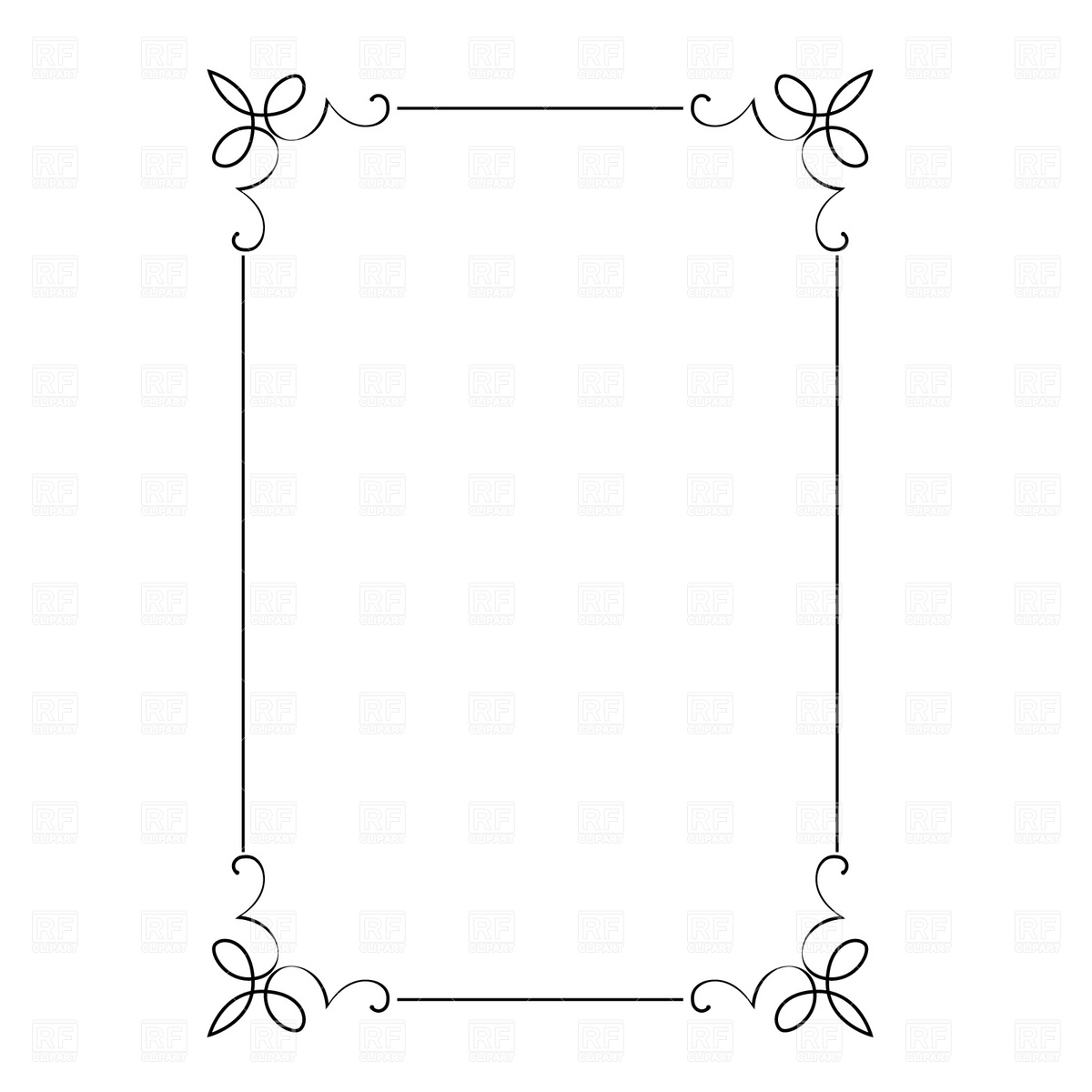 Decorative Frame 4693 Borders And Frames Download Royalty Free