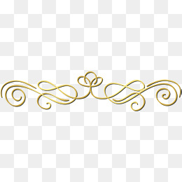 small fresh gold lines, Flower, Decorati-small fresh gold lines, Flower, Decorative Pattern, Golden PNG Image and  Clipart-18