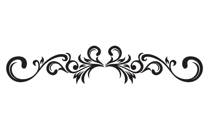 Decorative Scroll Clipart Kid. Decorative Scroll decals .
