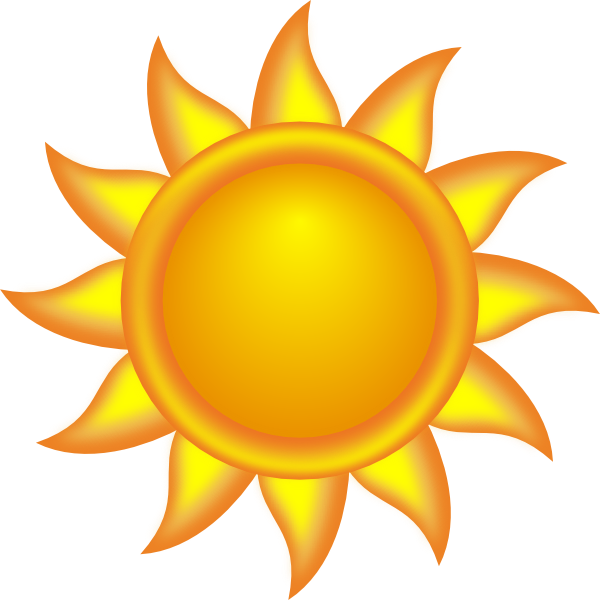 Decorative Sun Clip Art At Clker Com Vector Clip Art Online Royalty
