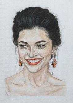 Deepika Padukone sketch
