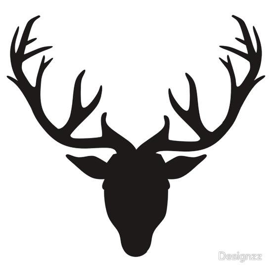Deer Antlers Clipart Black And White-deer antlers clipart black and white-4
