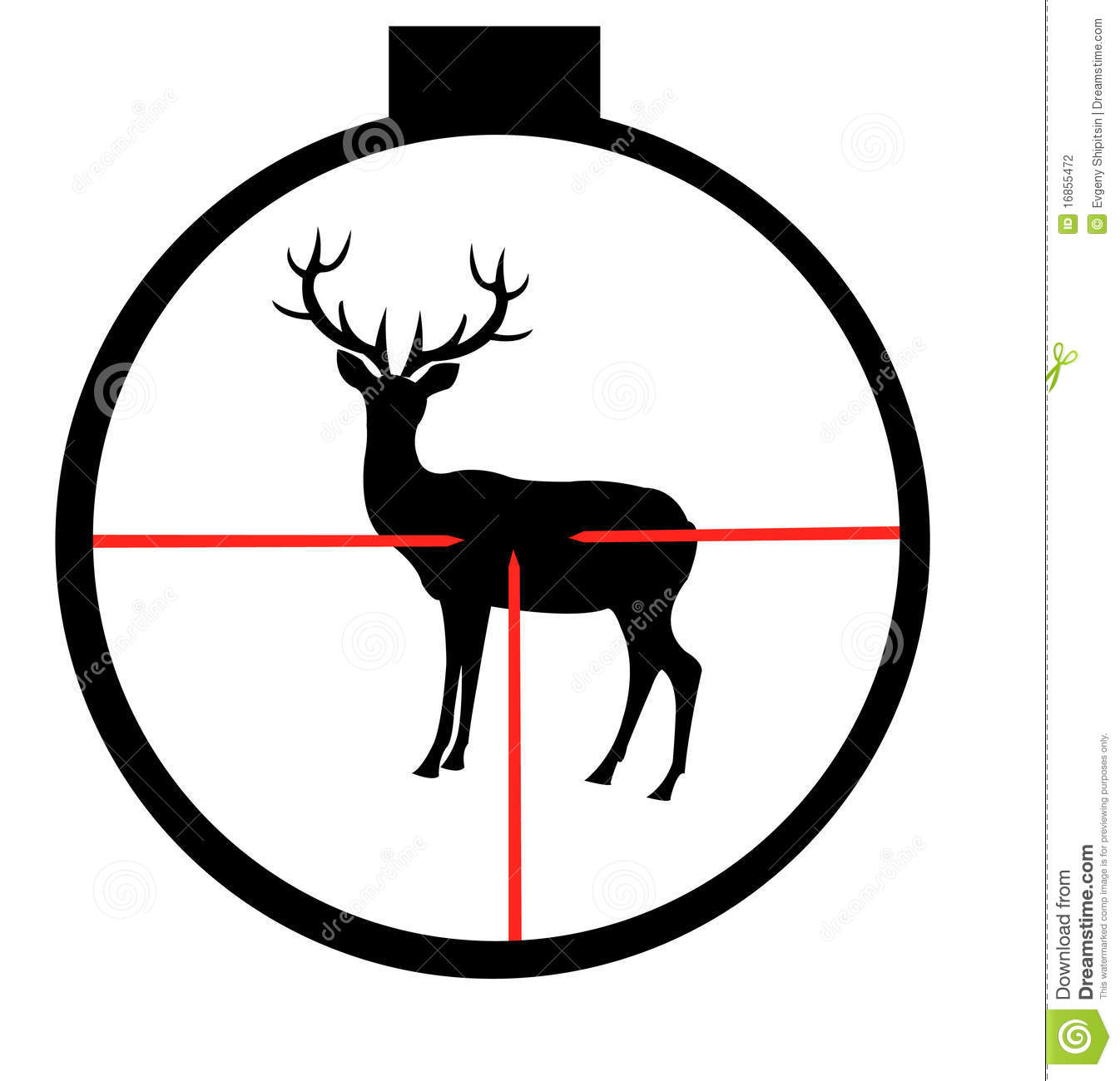 Deer hunting. Clipart clipartlook