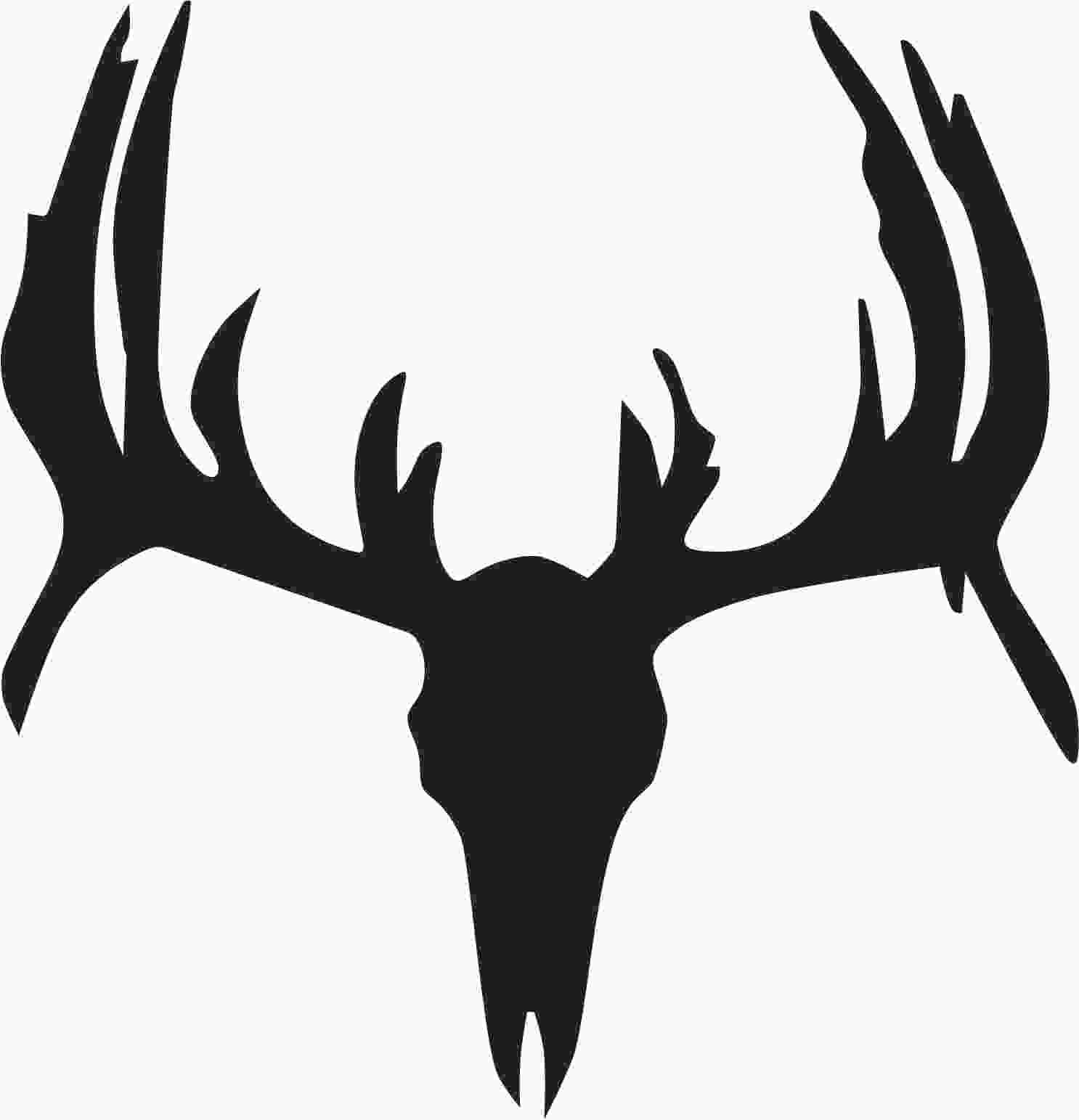 Deer Skull Clipart-deer skull clipart-6