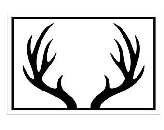 deer antler clip art | Use these free images for your websites, art projects,