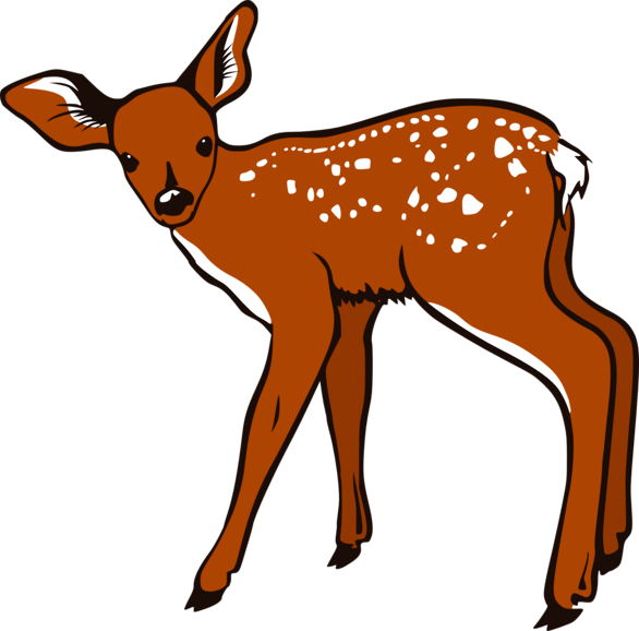 Deer Clip Art-Deer Clip Art-6