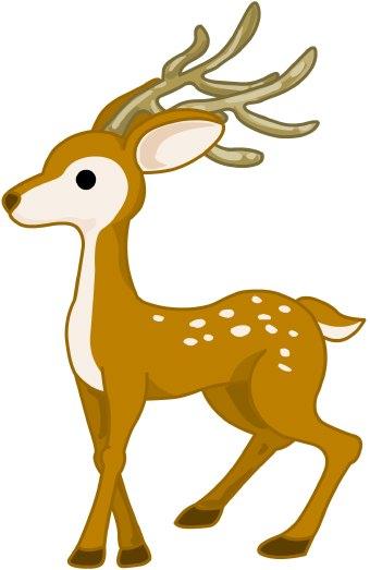 Deer clip art .
