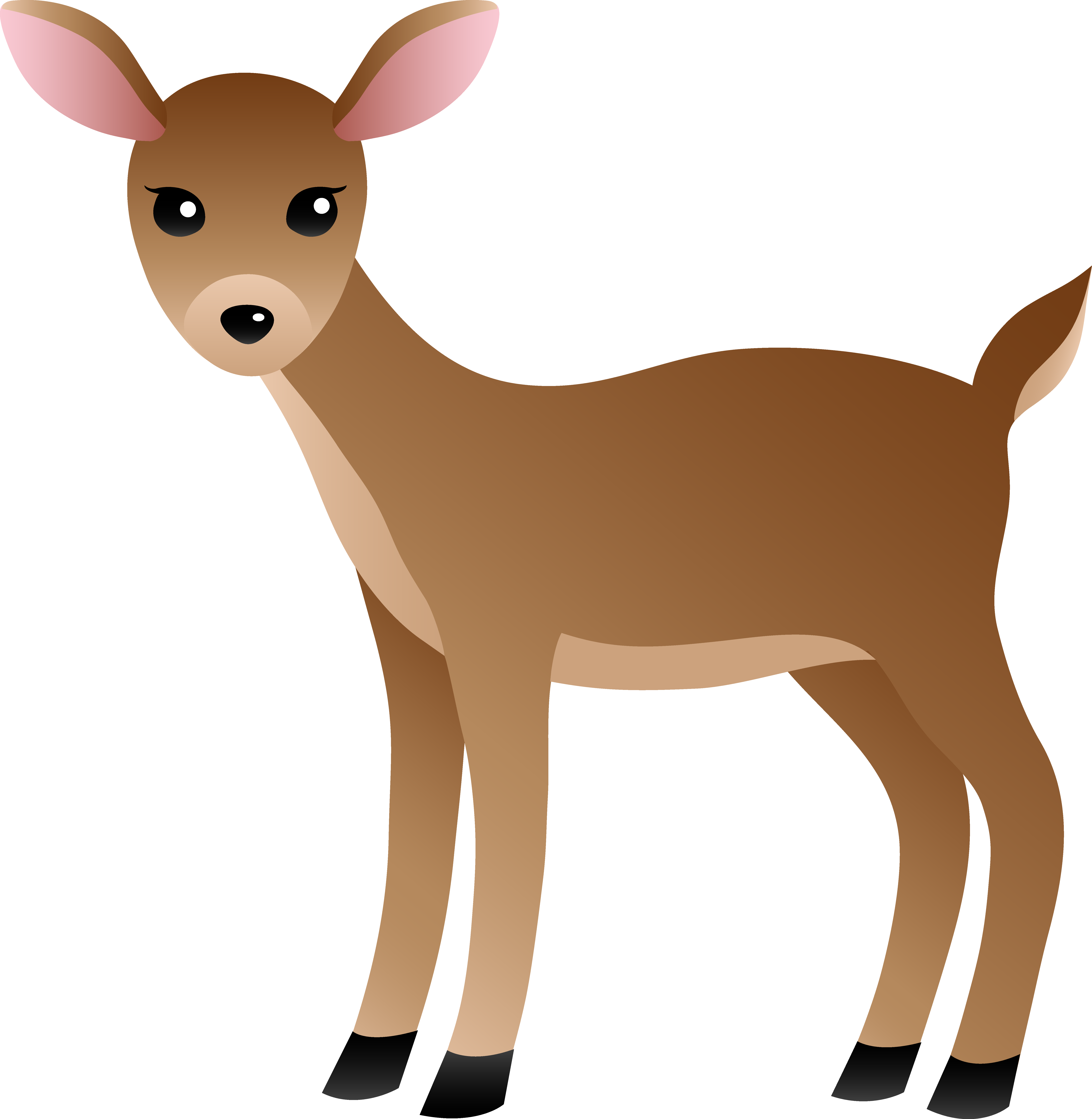 Deer clipart .