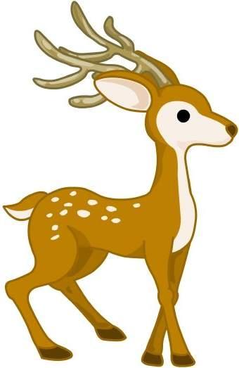 Deer clipart free clip art .