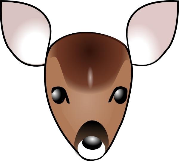 Deer Head Clip Art-Deer Head clip art-2
