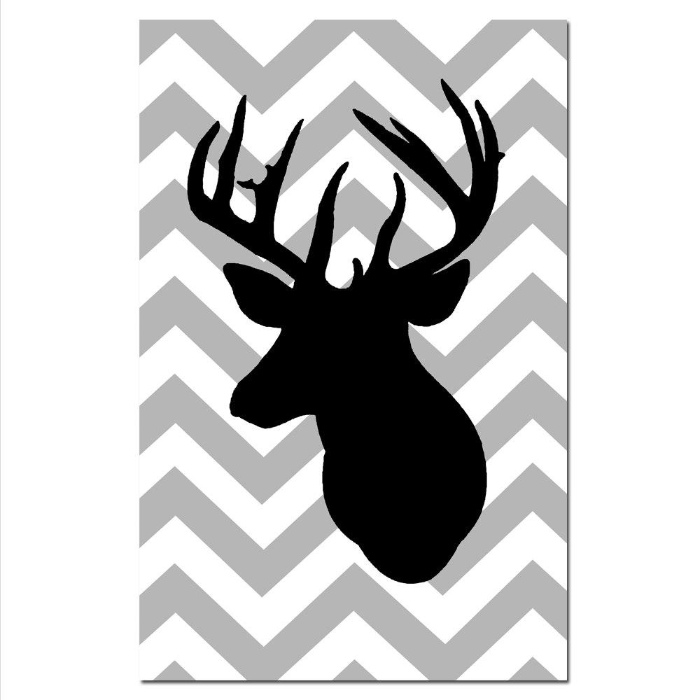Deer Head Silhouette Clip Art Cliparts C-Deer Head Silhouette Clip Art Cliparts Co-1
