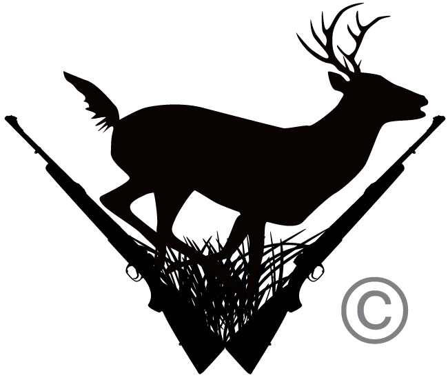 Deer hunting black clipart-Deer hunting black clipart-18