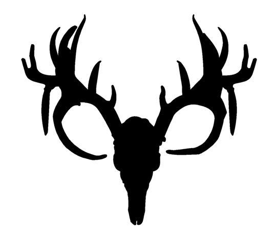 Deer Skull Clip Art #14219 - Deer Skull Clip Art